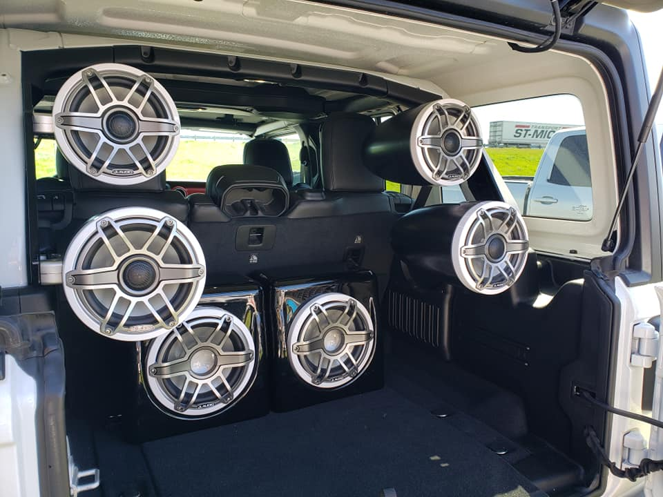 We install sound systems in more than just cars